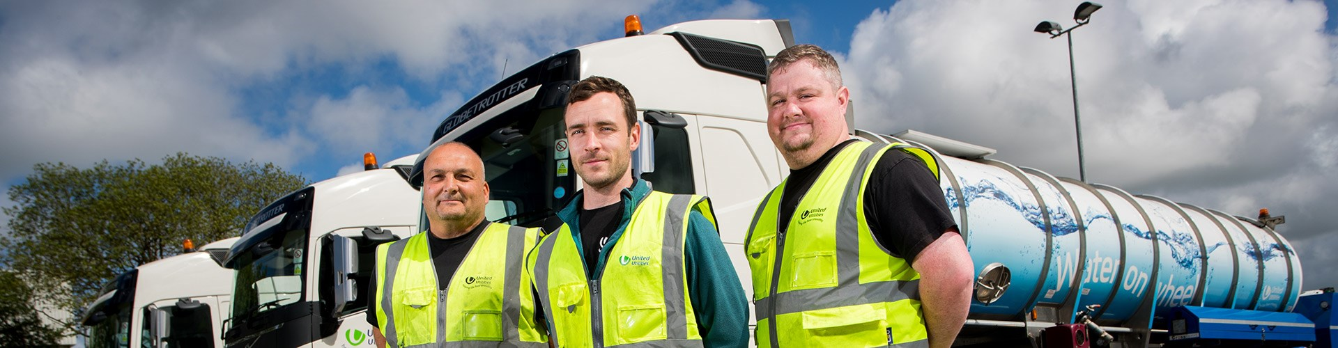 Three Employees And Lorries